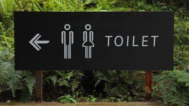 basic restroom etiquette
