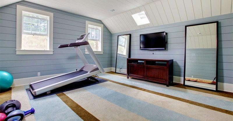 creating home gym