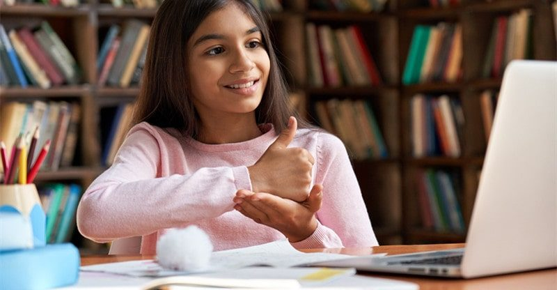 deaf education programs online