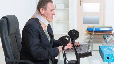 employee injured at work