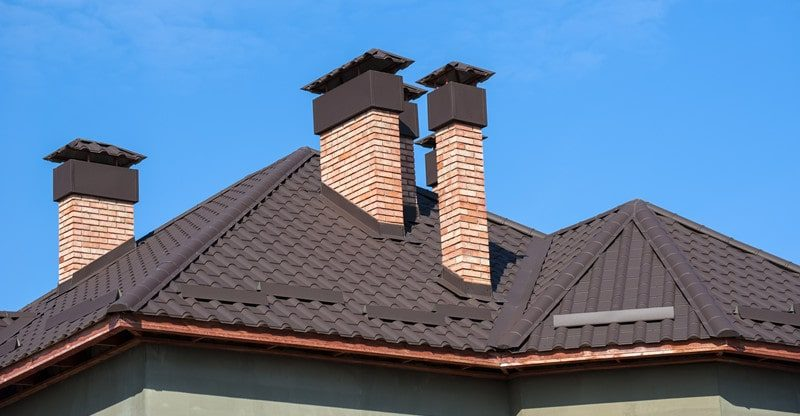 fix leaning chimney