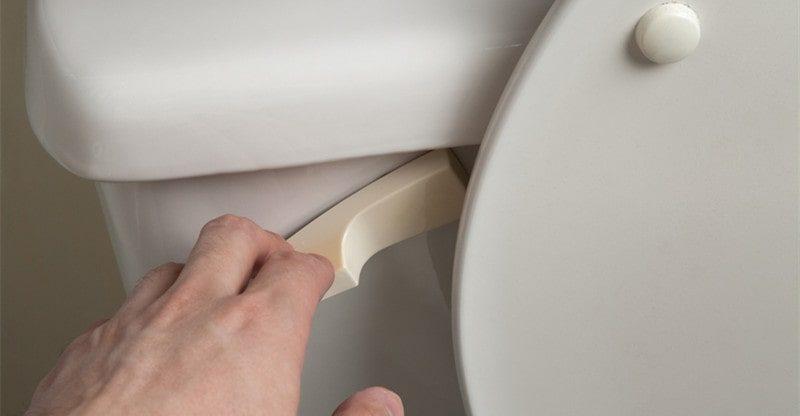 fixing loose toilet handle