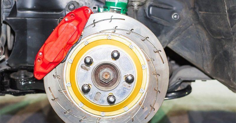 front brakes wear