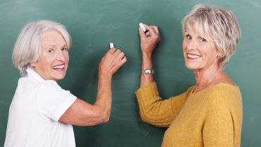 going back to school after retirement