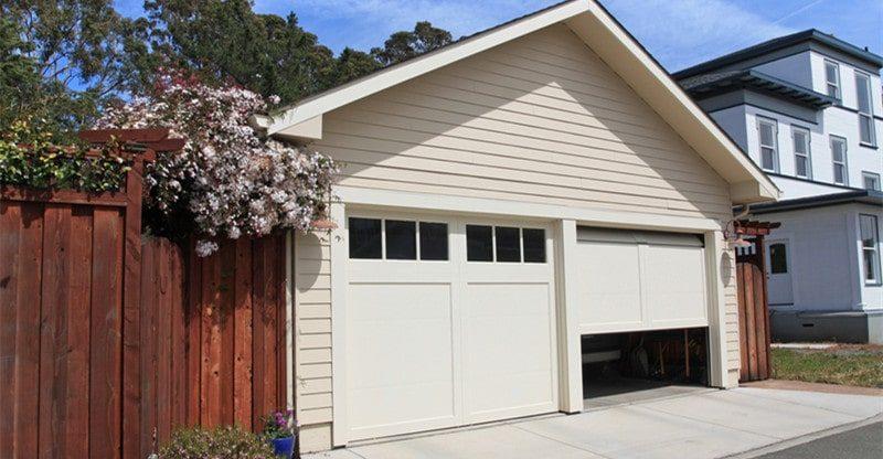 home needs garage door