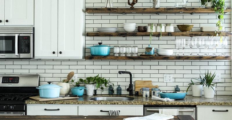 latest appliance in kitchen