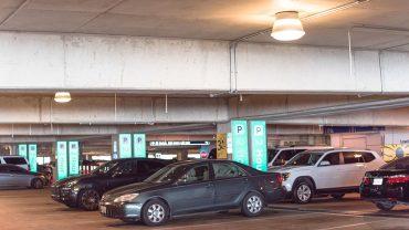 led parking lot lights