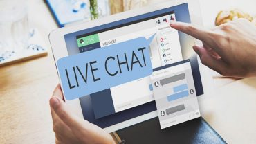 live chat in retail app