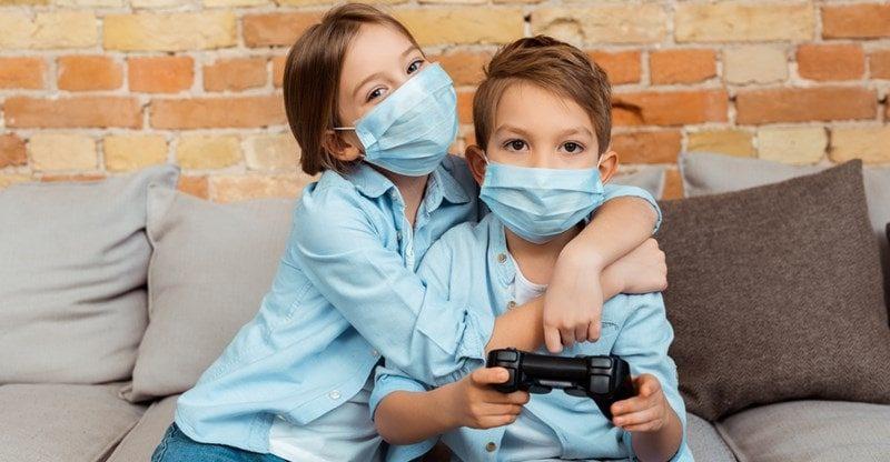 mask lanyard for kids