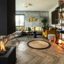 modern fireplace designs