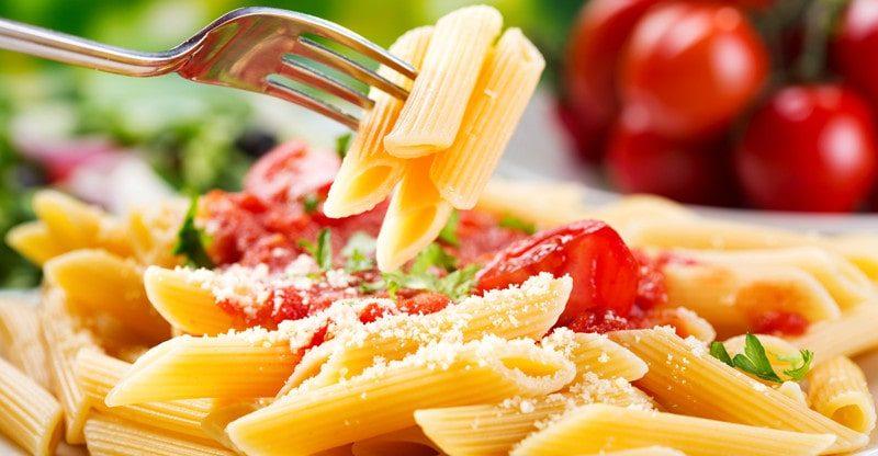 options in pasta restaurant