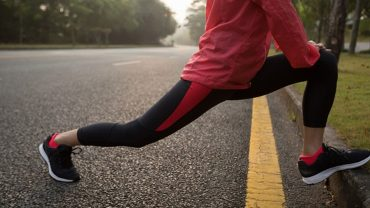 stop leg aching after exercise