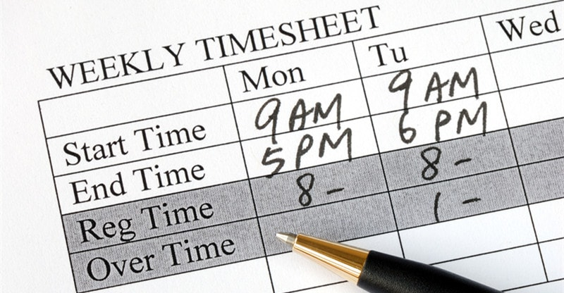 various types of timesheet and its advantages