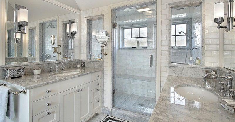 upgrade and modernize bathroom